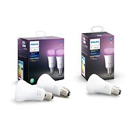 Philips Hue White and Color Ambiance 9W E27 Set of 2 pcs + Philips Hue White and Color Ambiance 9W E