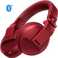 Pioneer DJ HDJ-X5BT-R, Red - Wireless Headphones