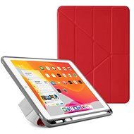 """Pipetto Origami Pencil Case for Apple iPad 10.2"""" (2019) - Red - Tablet Case"""