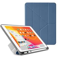 """Pipetto Origami Pencil Case for Apple iPad 10.2"""" (2019) - Navy Blue - Tablet Case"""