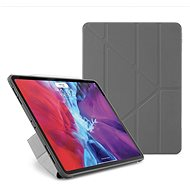 """Pipetto Origami Case for Apple iPad Pro 12.9"""" (2020) - Grey - Tablet Case"""