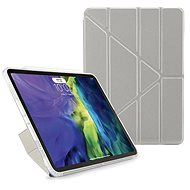 """Pipetto Metallic Origami for Apple iPad Air 10.9"""" (2020) - Silver - Tablet Case"""