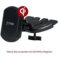 Pitaka MagMount Qi Pro Wireless CD Slot Mount - Car Holder