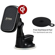 Pitaka MagMount Qi Wireless Dashboard Mount - Car Holder