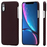 Pitaka Aramid Case Black/Red Twill iPhone XR - Mobile Case