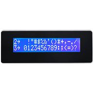 Virtuos LCD LCM 20x20 for AerPOS, Black - Customer Display