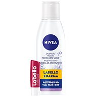 NIVEA Soothing Caring micellar water 200ml + Labello Cherry - Micellar Water