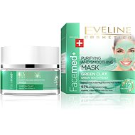 EVELINE COSMETICS Facemed+ Purifying and Smoothing Mask Green Clay 50ml - Mask