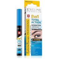 EVELINE COSMETICS Eyebrow Therapy Professional Corrector With Henna 8in1 10ml - Corrector