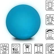 Color changing Sphere 40cm - Ottoman