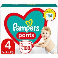 PAMPERS Pants size 4 Maxi Mega+ (104pcs) - monthly pack - Nappies