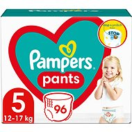 PAMPERS Pants size 5 Junior (96 pcs) - monthly stock - Nappies