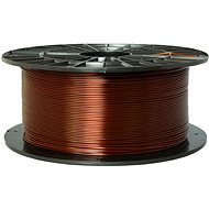 PLASTY MLADEČ 1.75mm PETG 1kg Transparent Brown - 3D Printing Filament