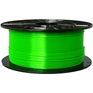 PLASTY MLADEČ 1.75mm PETG 1kg Transparent Green - 3D Printing Filament