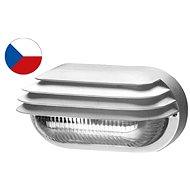 Panlux OVAL GRILL Matte White 40W - Figure Light
