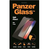 PanzerGlass Premium Privacy for Apple iPhone X black - Glass protector