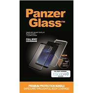 PanzerGlass Premium Bundle for Samsung Galaxy S8 Plus Black + Clear Case
