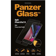 PanzerGlass Edge-to-Edge Privacy for Apple iPhone 6/6s/7/8 Black - Glass protector