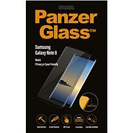 PanzerGlass Premium Privacy for Samsung Galaxy Note8 Black - Glass protector