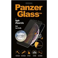 PanzerGlass Edge-to-Edge Privacy for Apple iPhone X/XS Black with CamSlider