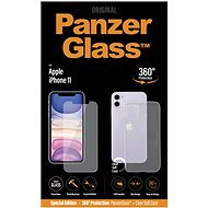 PanzerGlass Standard Bundle for the Apple iPhone 11 (Standard Fit + Clear TPU Case) - Glass protector