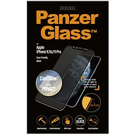 PanzerGlass Edge-to-Edge Privacy for Apple iPhone X/XS/11 Pro Black with CamSlider - Glass protector