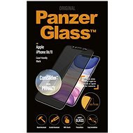 PanzerGlass Edge-to-Edge Privacy for Apple iPhone XR/11 Black with CamSlider - Glass protector