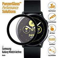 PanzerGlass SmartWatch for Samsung Galaxy Watch Active Black Full-Adhesive - Glass protector