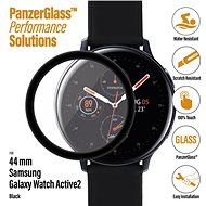PanzerGlass SmartWatch for Samsung Galaxy Watch Active 2 (44mm) Black Full-Adhesive - Glass protector