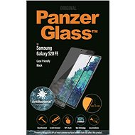 PanzerGlass Edge-to-Edge Antibacterial for Samsung Galaxy S20 FE, Black - Glass protector