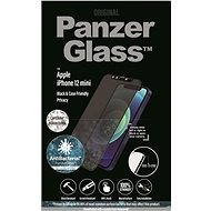 PanzerGlass Edge-to-Edge Privacy Antibacterial for Apple iPhone 12 mini Black with Swarowski CamSlid