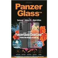 PanzerGlass ClearCase Antibacterial for Samsung Galaxy S21 Black Edition - Mobile Phone Case