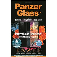 PanzerGlass ClearCase Antibacterial for Samsung Galaxy S21 Ultra Black Edition - Mobile Phone Case