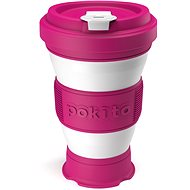 POKITO Collapsible Coffee Cup, 3-in-1, Raspberry - Mug