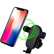 FIXED Matic Wireless Charging, Black - Mobile Phone Holder