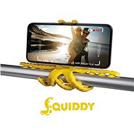 """CELLY Squids for Phones up to 6.2"""" Yellow - Car Holder"""