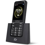 myPhone Halo Q Senior black - Mobile Phone