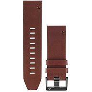 Garmin QuickFit 22 Leather Brown - Watch band