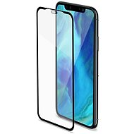 CELLY Full Glass for Apple iPhone XS Max Black - Glass protector