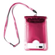 "CELLY Splash Bag for 5.7"" Phones – Pink - Mobile Phone Case"
