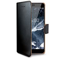 CELLY Wally for Nokia 5.1 Black - Mobile Phone Case