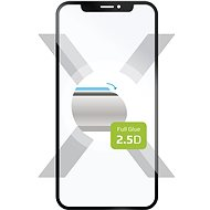 FIXED FullGlue-Cover for Huawei Y9 Prime (2019), full screen adhesive, black - Glass protector