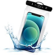FIXED Float with Lock System and IPX8 Certification Black - Mobile Phone Case