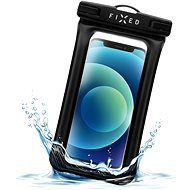 FIXED Float Edge with Lock System and IPX8 Certification Black - Mobile Phone Case