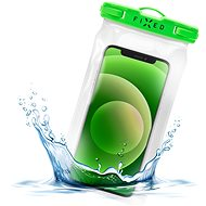 FIXED Float with Locking System and IPX8 Certification Lime - Mobile Phone Case