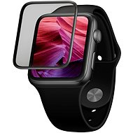 FIXED 3D Full-Cover with Applicator for Apple Watch 44mm Black - Glass protector