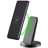 Cellularline Wireless Fast Charger Stand QI black - Wireless charger