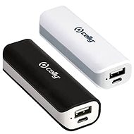 CELLY BIPOWER2200BKWH 2 pcs, black/white - Power Bank