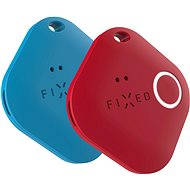 FIXED Smile PRO Duo Pack - Blue + Red - Bluetooth Chip Tracker