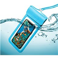 "CELLY Splash Bag 2019 for 6.5"" Phones, Blue - Mobile Phone Case"